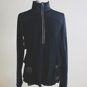Lululemon Sun Runner Hybrid Pullover Ruffle Jacket